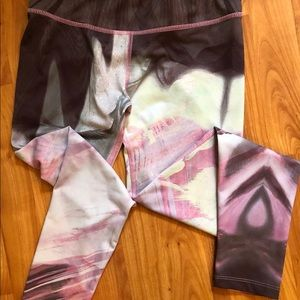 Apana floral pattern, ankle cut leggings XS